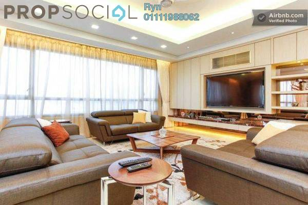 For Rent Condominium at The CapSquare Residences, Dang Wangi Freehold Fully Furnished 8R/6B 6.1k