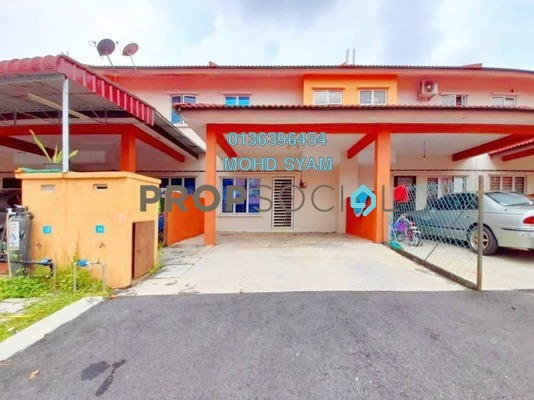 Terrace For Sale in Taman Idaman Murni, Sepang Freehold Unfurnished 4R/3B 380k