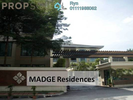 For Rent Condominium at Madge Residences, Ampang Hilir Freehold Fully Furnished 6R/6B 22k