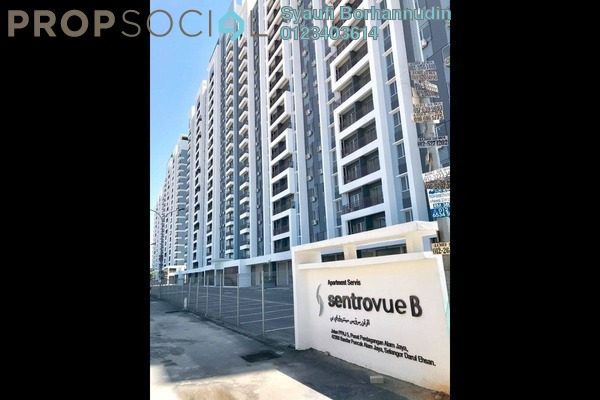 Serviced Residence For Sale in Sentrovue, Puncak Alam Freehold unfurnished 3R/2B 260k