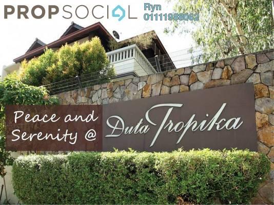 For Rent Superlink at Duta Tropika, Dutamas Freehold Fully Furnished 5R/5B 12k