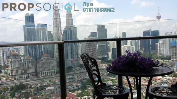 For Rent Serviced Residence at Setia Sky Residences, KLCC Freehold Fully Furnished 4R/3B 5k
