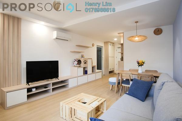 For Rent Condominium at Desa Kudalari, KLCC Freehold Fully Furnished 1R/1B 2k