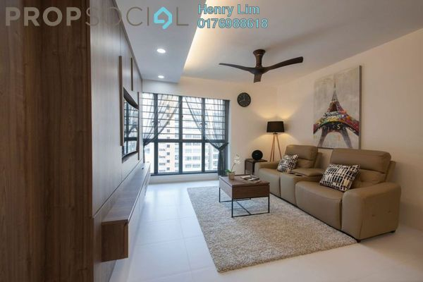 For Rent Condominium at Hampshire Place, KLCC Freehold Fully Furnished 2R/2B 5k