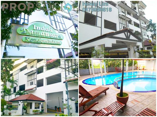 For Rent Condominium at Indah Damansara, Damansara Heights Freehold Fully Furnished 2R/2B 2.4k