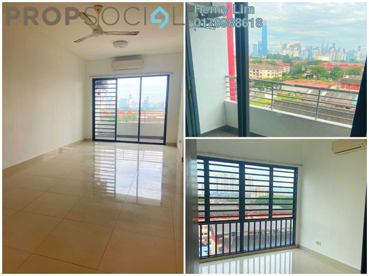 For Rent Condominium at Bayu @ Pandan Jaya, Pandan Indah Freehold Semi Furnished 3R/2B 1.6k