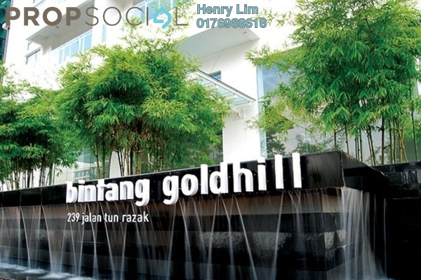 For Rent Condominium at Bintang Goldhill, KLCC Freehold Fully Furnished 3R/3B 3.5k