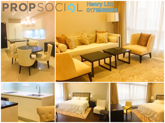 For Rent Serviced Residence at Banyan Tree, KLCC Freehold Fully Furnished 2R/2B 6.8k