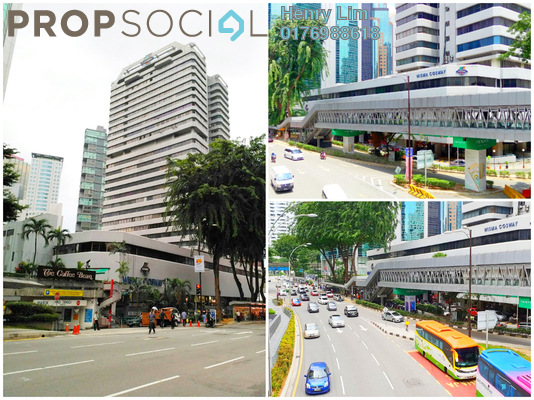 For Rent Office at Wisma Cosway, KLCC Freehold Unfurnished 0R/0B 1.3k