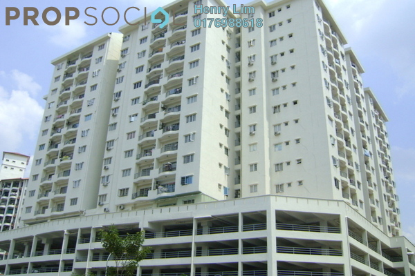 For Rent Condominium at Plaza Prima Setapak, Setapak Freehold Semi Furnished 3R/2B 1.5k