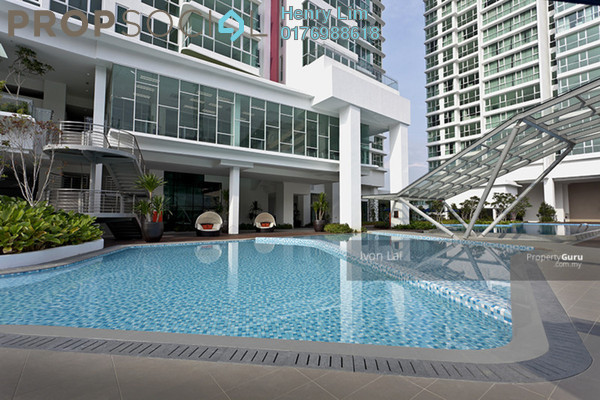 For Rent Serviced Residence at Uptown Residences, Damansara Utama Freehold Fully Furnished 1R/1B 2.9k
