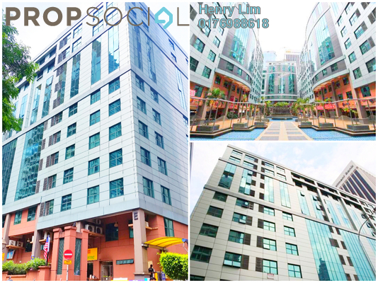 For Rent Office at Megan Avenue 1, KLCC Freehold Fully Furnished 0R/0B 5.8k