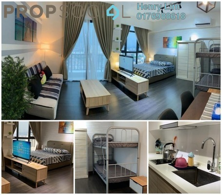 For Rent Serviced Residence at 28 Boulevard, Pandan Perdana Freehold Fully Furnished 1R/1B 1.5k