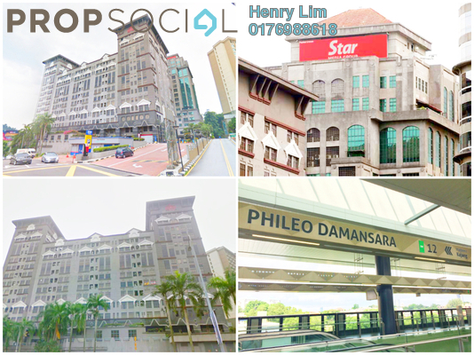 For Rent Office at Phileo Damansara 2, Petaling Jaya Freehold Fully Furnished 0R/0B 4.8k