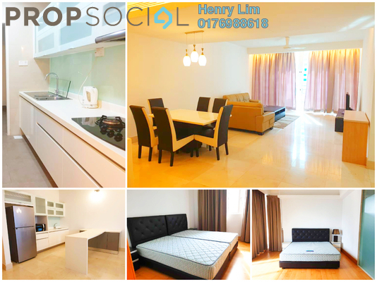 For Rent Condominium at Embassyview, Ampang Hilir Freehold Fully Furnished 3R/3B 5k