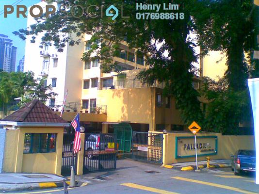 For Rent Condominium at The Palladium, Keramat Freehold Fully Furnished 3R/2B 1.7k