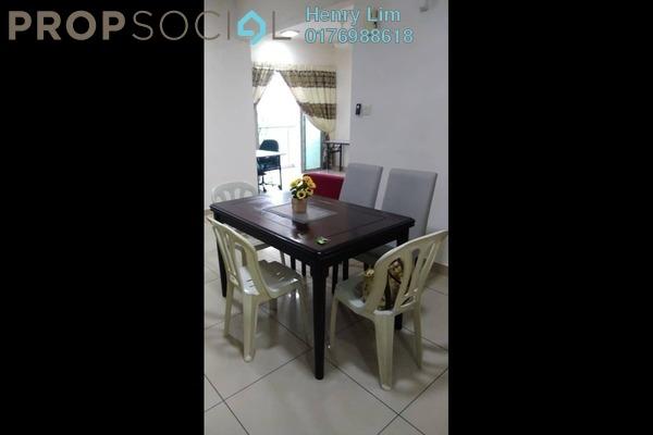 For Rent Condominium at One South, Seri Kembangan Freehold Fully Furnished 3R/2B 1.8k