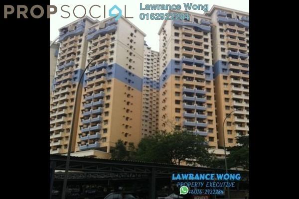 For Sale Apartment at Vista Komanwel, Bukit Jalil Freehold Fully Furnished 4R/2B 480k