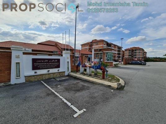 Apartment For Sale in Pangsapuri Alam Budiman, Shah Alam Leasehold semi_furnished 3R/2B 290k