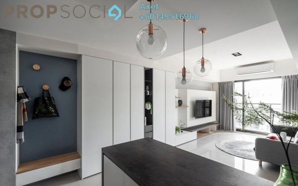 Condominium For Sale in Sunway Mentari, Bandar Sunway Freehold Fully Furnished 2R/2B 299k