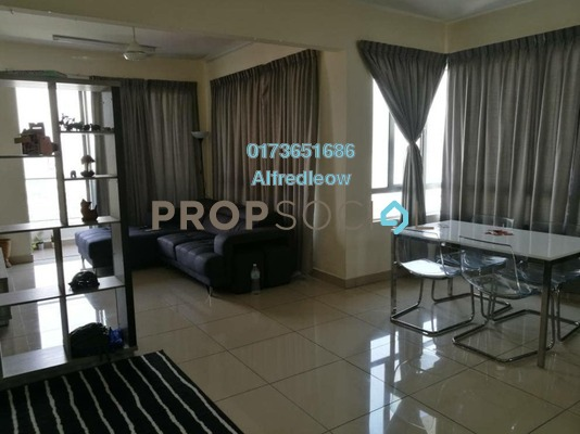 Condominium For Sale in Platinum Lake PV21, Setapak Freehold Semi Furnished 5R/2B 530k