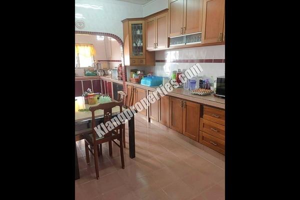 For Sale Terrace at Taman Bayu Perdana, Klang Freehold Fully Furnished 4R/3B 498k