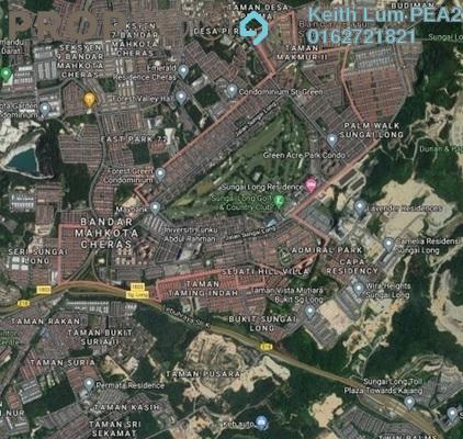 Land For Sale in SL11, Bandar Sungai Long Freehold Unfurnished 1R/1B 14.9m