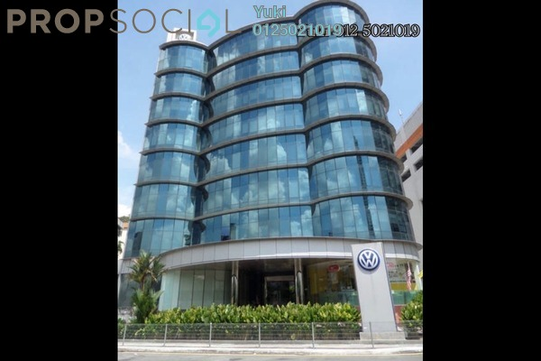 For Rent Office at Wisma Volkswagen, Bangsar Freehold Semi Furnished 0R/2B 15k