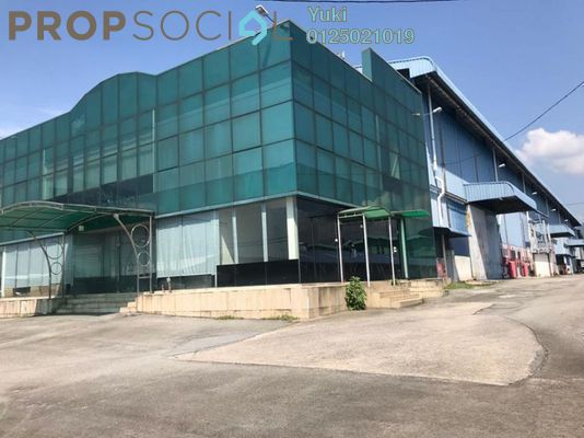For Rent Factory at Gerbang Lahat Bistari, Ipoh Freehold Semi Furnished 1R/2B 11k