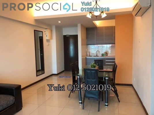 For Rent Condominium at Kinta Riverfront, Ipoh Freehold Fully Furnished 2R/2B 1.6k