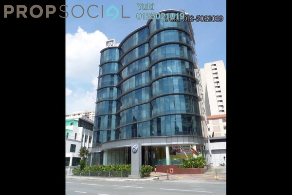 For Rent Office at Wisma Volkswagen, Bangsar Freehold Semi Furnished 4R/4B 33k