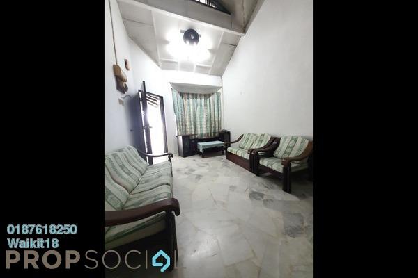 For Rent Terrace at Taman Skudai Baru, Skudai Freehold Semi Furnished 3R/2B 1.2k