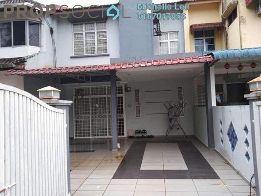 Terrace For Sale in Taman Puteri Wangsa, Ulu Tiram Freehold Semi Furnished 4R/3B 420k