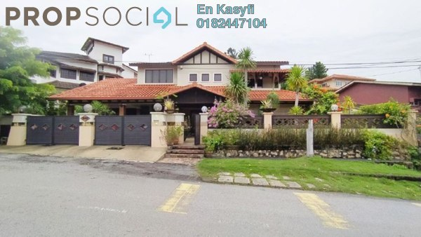 For Sale Bungalow at Taman Setia, Gombak Freehold Semi Furnished 8R/6B 2.5m