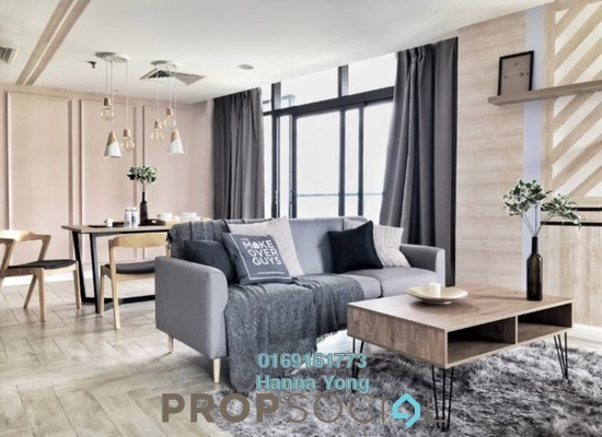 For Rent Condominium at Empire City, Damansara Perdana Freehold Fully Furnished 2R/2B 2.3k