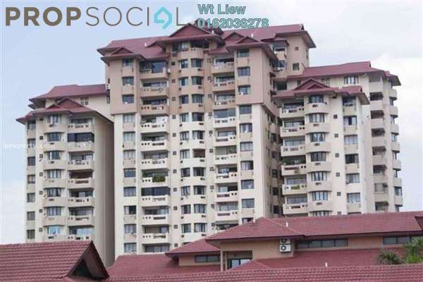 For Rent Condominium at Kiara Park, TTDI Freehold Fully Furnished 3R/2B 2.8k