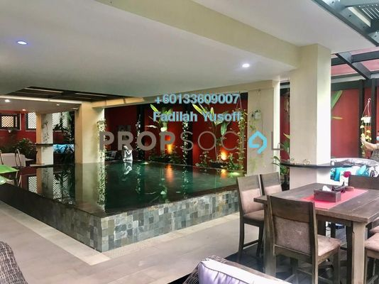 Semi-Detached For Sale in Amarin Kiara, Mont Kiara Freehold Semi Furnished 5R/6B 5.7m