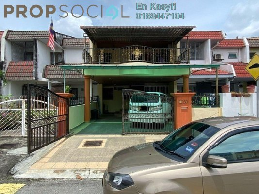 Terrace For Sale in Taman Sri Bahtera, Cheras Freehold Semi Furnished 4R/3B 655k