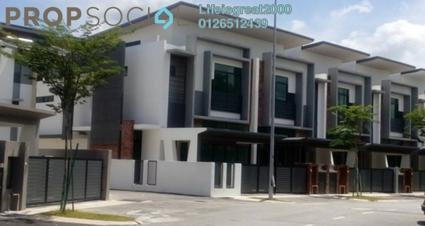 Superlink For Sale in Phase 6A, Taman Putra Prima Freehold Semi Furnished 5R/5B 1m