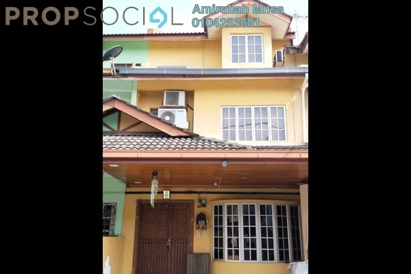 Terrace For Sale in Cheras Jaya Industrial Park, Balakong Freehold Semi Furnished 4R/4B 540k