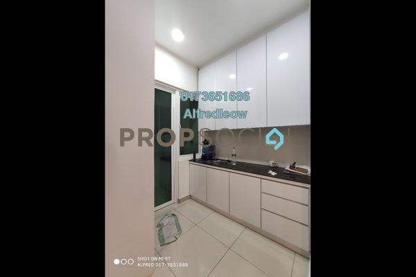 For Rent Condominium at Mercury Serviced Apartment @ Sentul Village, Sentul Freehold Semi Furnished 3R/2B 1.3k