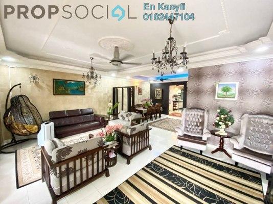 Superlink For Sale in Taman Damai Utama, Bandar Kinrara Freehold Semi Furnished 6R/5B 950k