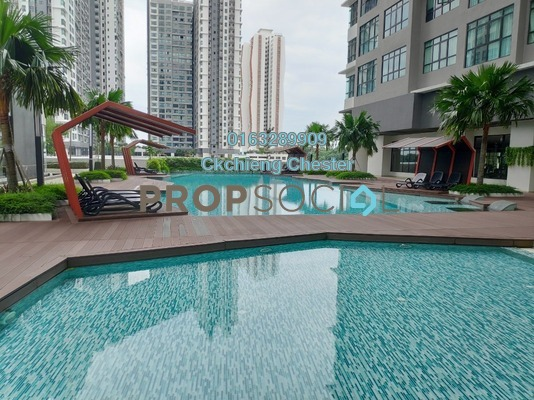 For Rent Condominium at Conezión, IOI Resort City Freehold Unfurnished 2R/2B 1.2k