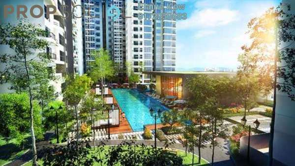 For Rent Condominium at Verdana, Dutamas Freehold Semi Furnished 3R/4B 4.9k