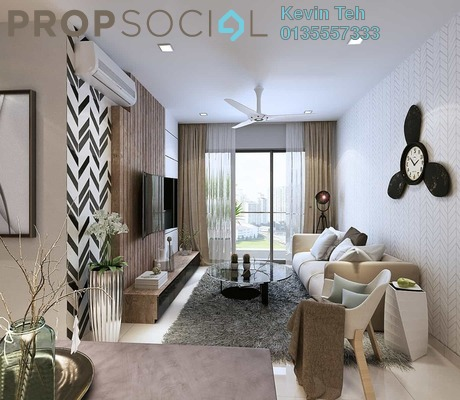For Sale Condominium at Unio Residence, Kepong Freehold Semi Furnished 2R/2B 622k