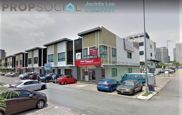 Shop For Sale in Plaza Crystalville, Cyberjaya Freehold Unfurnished 0R/4B 1.13m