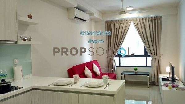 For Rent Serviced Residence at Solstice @ Pan'gaea, Cyberjaya Freehold Fully Furnished 1R/1B 1.15k