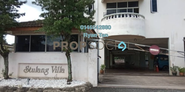 For Rent Condominium at Kampung Stulang Laut, Johor Bahru Freehold Fully Furnished 3R/4B 2.1k