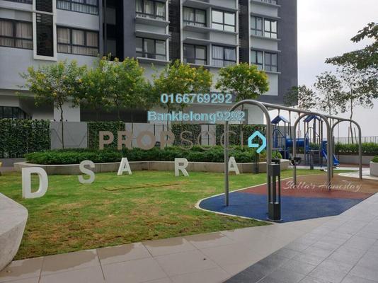Condominium For Sale in D'Sara Sentral, Sungai Buloh Freehold Semi Furnished 3R/2B 403k
