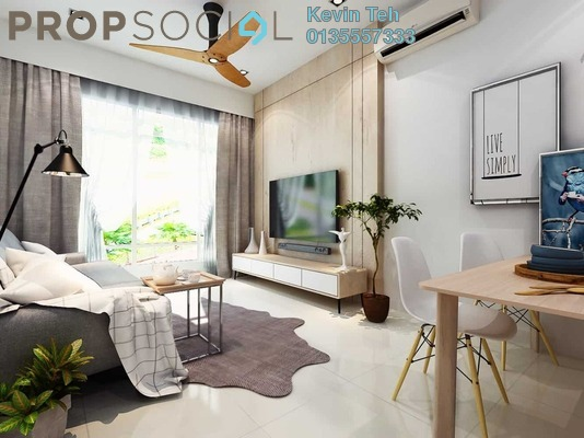 For Sale Condominium at Unio Residence, Kepong Freehold Semi Furnished 2R/2B 712k